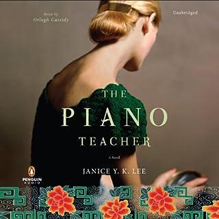 The Piano Teacher audiobook cover art