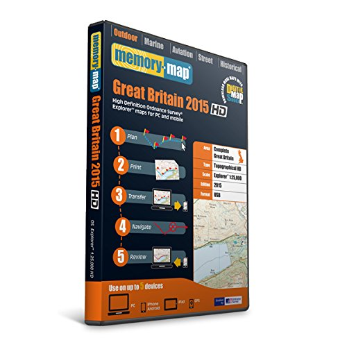 Memory-Map GB OS Explorer - Memoria USB HD, Color Negro
