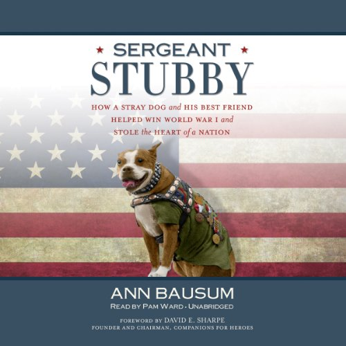 Sergeant Stubby audiobook cover art