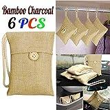 Fullfun 6Pcs Bag Carl-Fridge-Room-Wardrobe Bamboo Charcoal Activated Carbon Air Freshener Odor Deodorant
