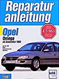 Opel Omega ab Dezember 1993: LS, GL, CD, MV6, Limousine und Caravan. 2,0 Liter / 2,0 Liter 16V- und V6-Motoren