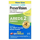 PreserVision® AREDS 2 Formula Vitamin & Mineral Supplement 140 ct Soft Gels (MiniGels)