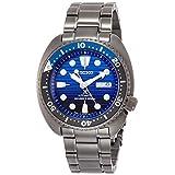 [セイコーウォッチ] 腕時計 プロスペックス メカニカル Save the Ocean Special Edition限定 ブルー文字盤 ハードレックス SBDY027 メンズ ブラック