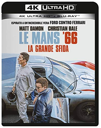 Le Mans 66 - La Grande Sfida (Blu-Ray 4K Ultra HD+Blu-Ray) [Italia] [Blu-ray]