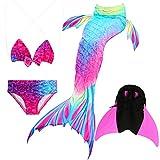 Das beste Mädchen Bikini Badeanzüge Schönere Meerjungfrauenschwanz Zum Schwimmen mit Meerjungfrau...