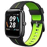 Lintelek Smartwatch 1,3 Zoll Touch Farbdisplay Screen mit GPS 5ATM Wasserdicht Smart Watch mit Herzfrequenzmesser Schlafmonitor Fitness Tracker Wettervorhersage Sportuhr Schrittzähler für Damen Herren - Best Reviews Guide