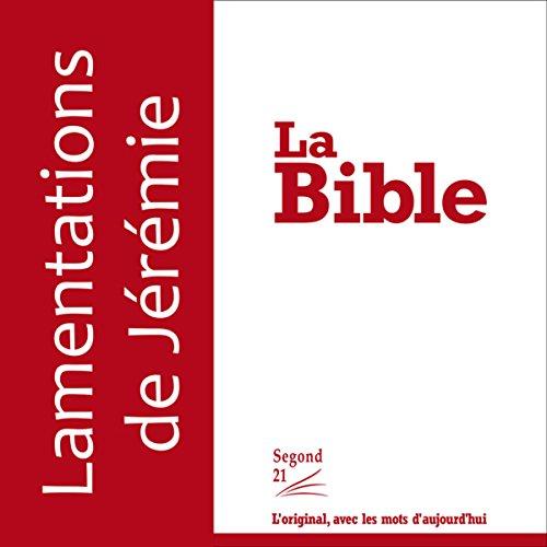 Lamentations - version Segond 21 cover art