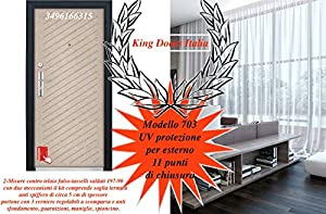 doors Porta portone blindato per casa Appartamento condominio MOD 703