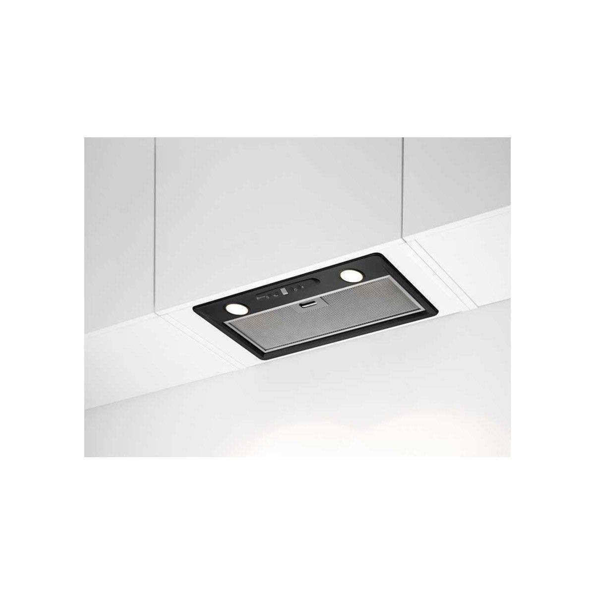 Electrolux Hotte intégrée 705 m³/h Encastrada Negro C - Campana (705 m³/h, Canalizado/Recirculación, C, A, C, 63 dB): Amazon.es: Hogar