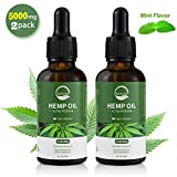 Best Hemp Oils - (5000mg, 2 Pack) Somora Hemp Oil, 100% Organic Review