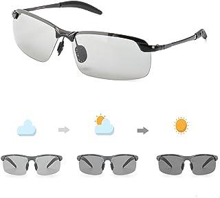 Vintage Occhiali da sole AL-MG Materiale leggero 100/% UVA UVB Protezione Enafad Fotocromatici Occhiali Da Sole Polarizzati Uomo