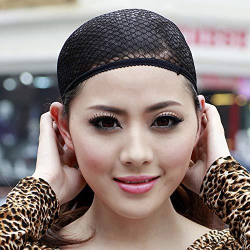 Wigsbuy Kappe/Perückenzubehör Netz/Baumwolle Perückenkappe Mesh Perückenkappe bequem/hochwertig 1 Stück schwarz