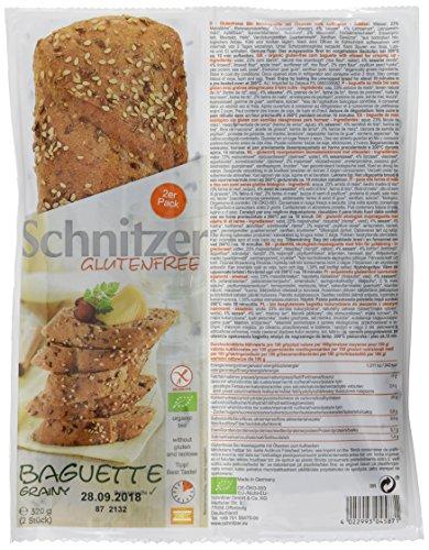 Schnitzer Baguette körnig glutenfrei, 320 g