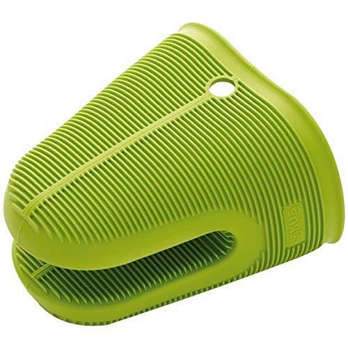 Lékué Protection Pince de Cuisine Silicone Vert / Noir