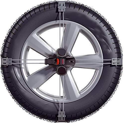 Cadena de coche antideslizante del neumático de coches Cadena de coches de emergencia General de emergencia Cadena de nieve,K22