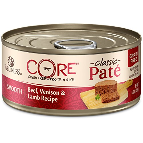 Wellness CORE Classic Pate Beef, Venison, and Lamb wet cat food