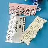 WOZOW Scrapbooking Stanzschablone prägemaschine Prägeschablonen Stanzformen Schablonen Zubehör für Hochzeits Einladung Grußkarte Verpackung Dekoration (I Spitze)