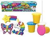 Color Baby Plastilina 4 Botes Unicornio 28x7x7cm