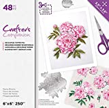 Crafters Companion Floral Decoupage Topper Pad-Peony Blooms, us:one size, Multi