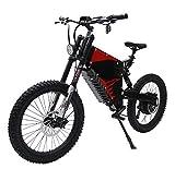 HYLH 72V 5000W FC-1 Potente Bicicleta eléctrica eBike Mountain con 72V 35Ah Li-Ion Samsung NCR18650GA 3500mAh Cells