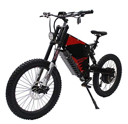 HYLH 72V 5000W FC-1 Potente Bicicletta elettrica eBike Mountain con Celle 72V 35Ah Li-Ion Samsung NCR18650GA 3500mAh