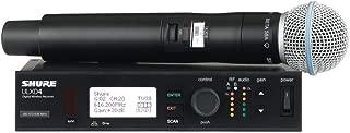 Shure ULXD2 Digital Handheld Wireless Transmitter with Beta 58A Microphone