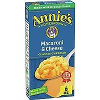 12-Pack Annie's Classic Cheddar Macaroni & Cheese Pasta & Mac & Cheese