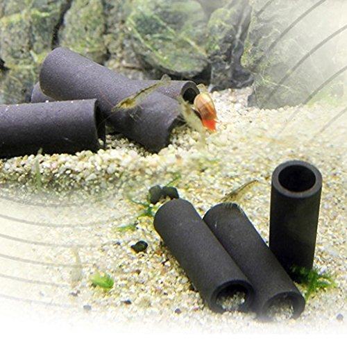 ECMQS 1/2/5 Stück Aquarium Rohr Zucht Hiding Cave Shelter Für Fisch Garnelen Spawn Live Anlage