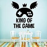 58 * 58cm hot vente roi du jeu cite home decor mur autocollant pour bébé enfants...