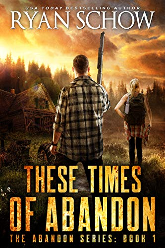 The might and strength of America is not found solely in her military or her commerce, but in the heart of her people…  <em>These Times of Abandon: A Post-Apocalyptic EMP Survivor Thriller</em> by Ryan Schow