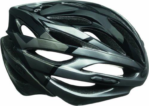 Bell Fahrradhelm Array, Black/Titanium Velocity, 55-59 cm, 210055017
