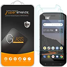 (2 Pack) Supershieldz for Cat S48c Tempered Glass Screen Protector, Anti Scratch, Bubble Free