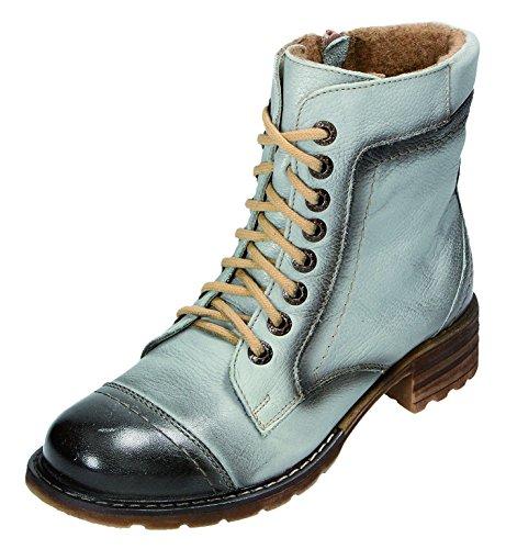 MICCOS Shoes Stiefel D.RV-Stiefel in schwarz/grau, Größe 40.0,