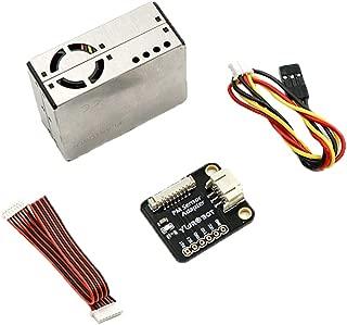 Acxico 1Set PMS5003 Sensor Module PM2.5 High Precision Laser Dust Sensor Digital Particle Concentration Laser Sensor+Cable for Arduino