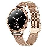 HQPCAHL Smartwatch, Reloj Inteligente A Prueba para Mujer, Smart...
