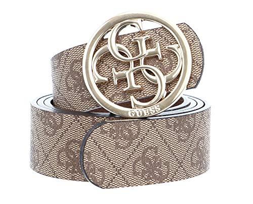 Guess Cathleen Reversible Pant Belt W90 Brown