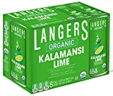 Langers Organic Flavored Sparkling Water, Kalamansi, 12 Ounce (Pack of 8)
