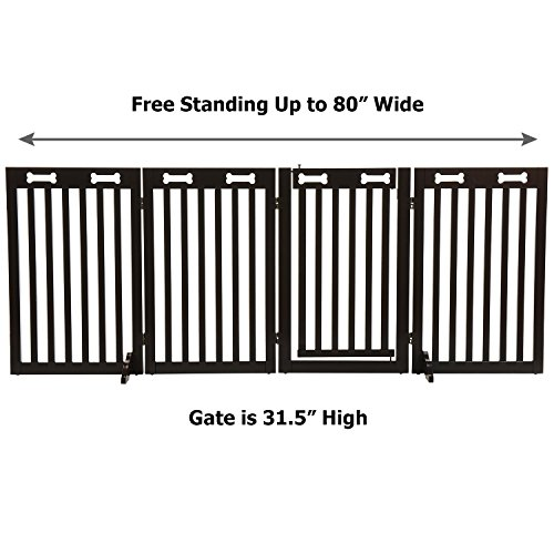 51AL8yVfmoL The TOP 7 Best Free Standing Baby Gates 2021 Review