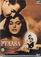Pyaasa (Brand New Single Disc Dvd, Hindi Language, With English Subtitles, Released by Sky Entertainement) Made in USA