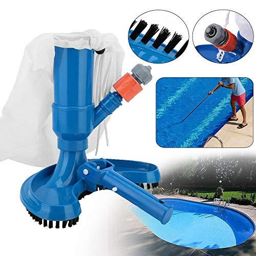 KPTKP Pool Blatt Staubsauger, Swimming Pool Spa-Staubsauger reinigen bewegliches Werkzeug für Teich-Brunnen Whirlpool Pool