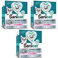 DUSTLESS: It is dust-free, it doesn't stay on your cat paws and keeping your home clean. Best of this Sanicat Strong Clump Cat Litter is its tender babypowder scent and is enriched with natural power of oxygen, which control bad smell and ensures fre...