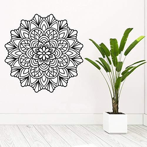 Mandala Mandala wasserdichte Wandaufkleber Wandkunst Dekoration wasserdichte Wandtattoo Wohnkultur Kunst Tapete A3 57x57cm