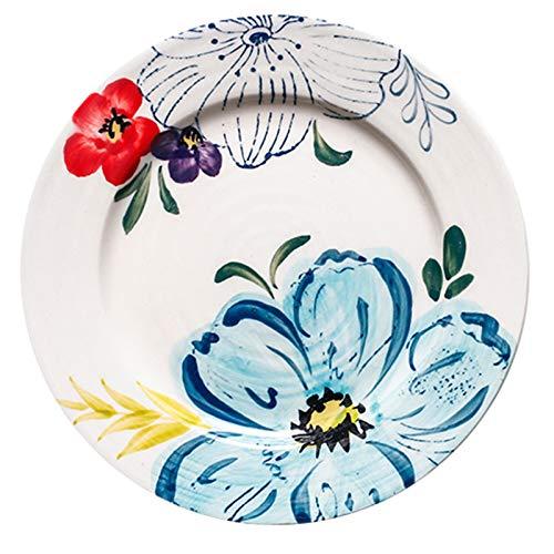 Juego de plato y vajilla, cuenco y plato de sopa grande, cuenco de ramen de frutas para el hogar y juego de cuenco y plato de desayuno (Color : White, Size : 5.98 * 5.98 * 0.66inch)