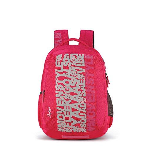 Skybags Bingo Plus 35.9856 Ltrs Pink School Backpack (SBBIP03PNK)