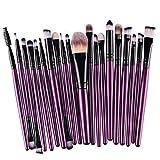Profesional Set de Brochas de Maquillaje Cepillos de Maquillaje para las Facial y Cejas por ESAILQ X