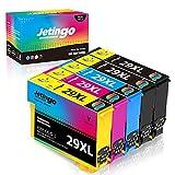 Jetingo 29 XL 29XL Cartuchos de Tinta de Repuesto para Epson 29 XL Multipack Compatible con Epson Expression Home XP-235 XP-245 XP-247 XP-255 XP-335 XP-342 XP-345 XP (2BK, 1C, 1M, 1Y)