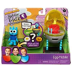 HobbyKids Action Figures - Egg, Multicolor