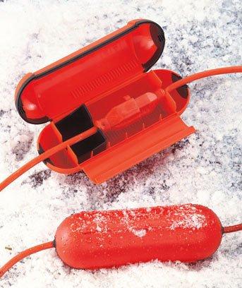 Extension Cord Safety Seal Orange Set of 2