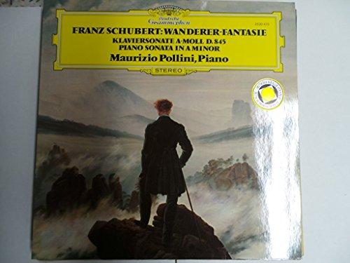 SCHUBERT, Franz: Wanderer-Fantasie in C major, op.15 D.760; Piano Sonata nr.16 in A minor, op.42 D.845 -- Maurizio Pollini (piano) -- Deutsche Grammophon (1974) Printed in Germany --DGG 2530473