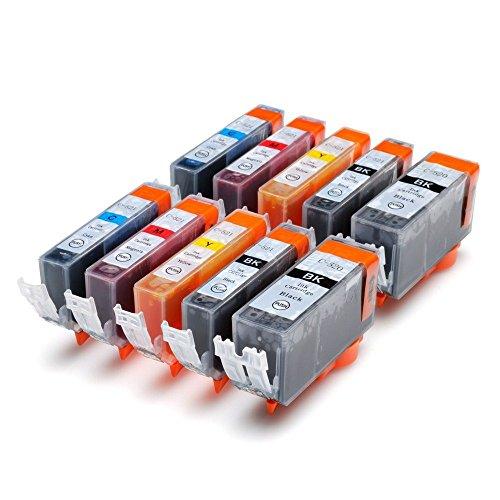 10 x Druckerpatronen kompatibel für Canon Pixma ip3600 ip4600 MP540 MP620 MP630 MP980 MP 540 620 630 980 ip 3600 4600 mit Chip